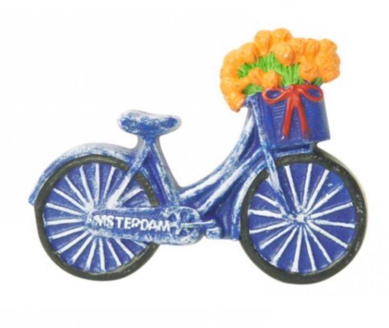 Bicycle Tulip Magnet