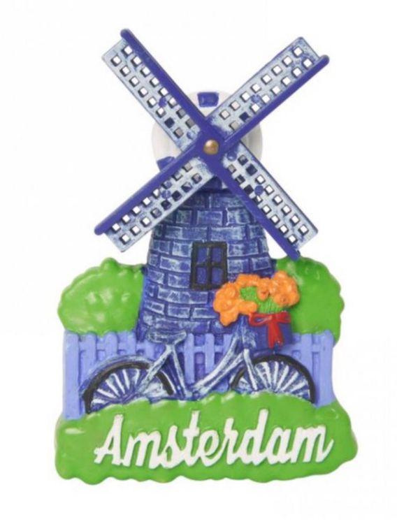 Windmill Magnet Amsterdam