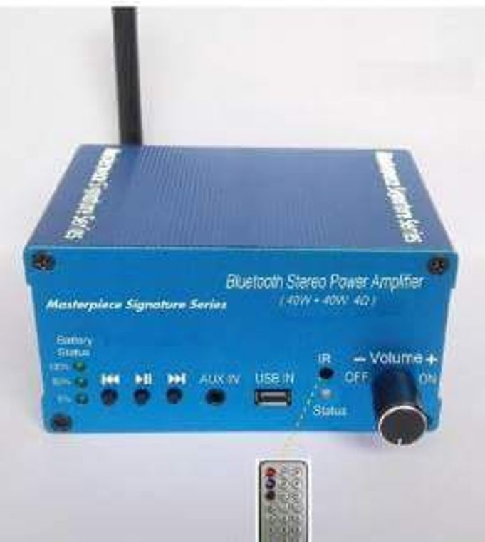 Portable Bluetooth Stereo Amplifier