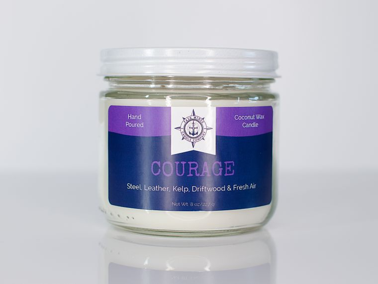 Courage Candle