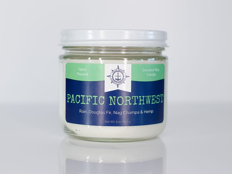 Pacific Northwest Candle