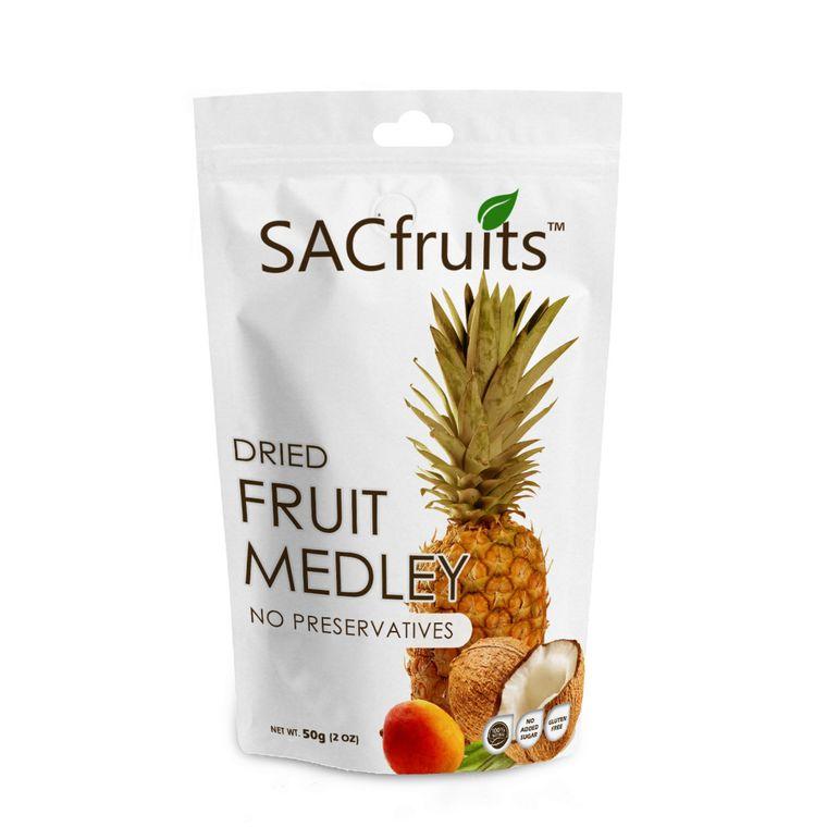 100% Natural Non-Gmo Dried Fruit Medley
