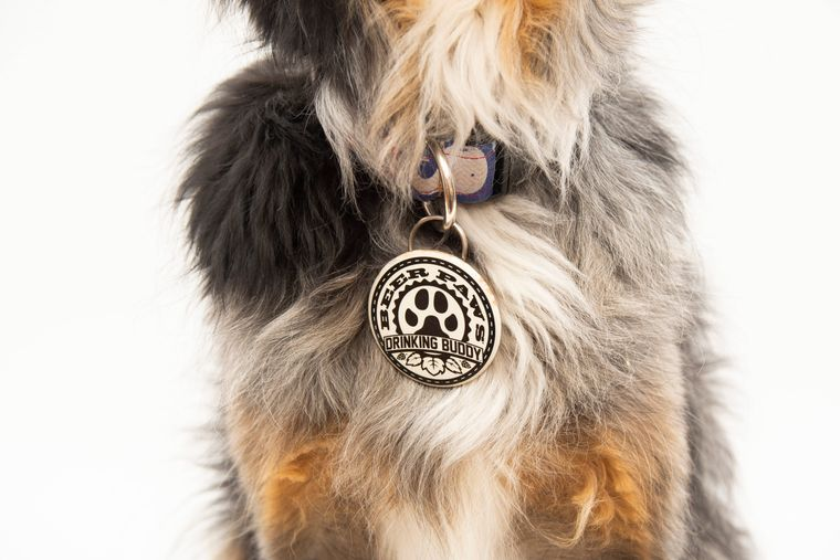 Bottle Opener for Dog Collars and Leashes