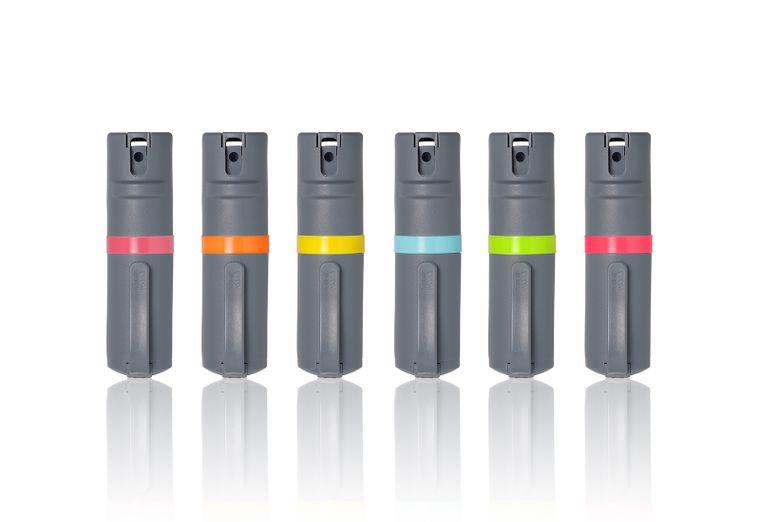 POM Pepper Spray Clip - Grey