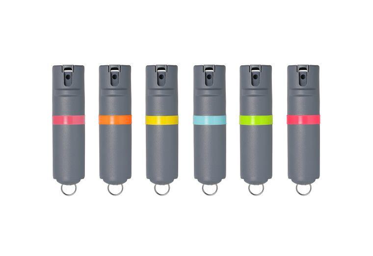 POM Pepper Spray Key - Grey