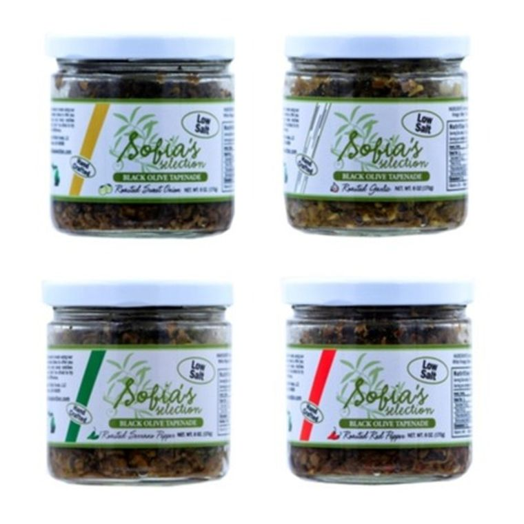 Olive Tapenade with Roasted Garlic,Roasted Red Pepper,Roasted Sweet Onion and Roasted Serrano Pepper