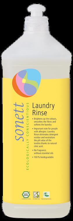 Sonett Eco Laundry Rinse 34 fl oz / 1 Litre