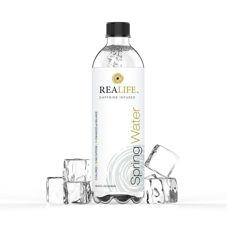 Realife Caffeinated Water