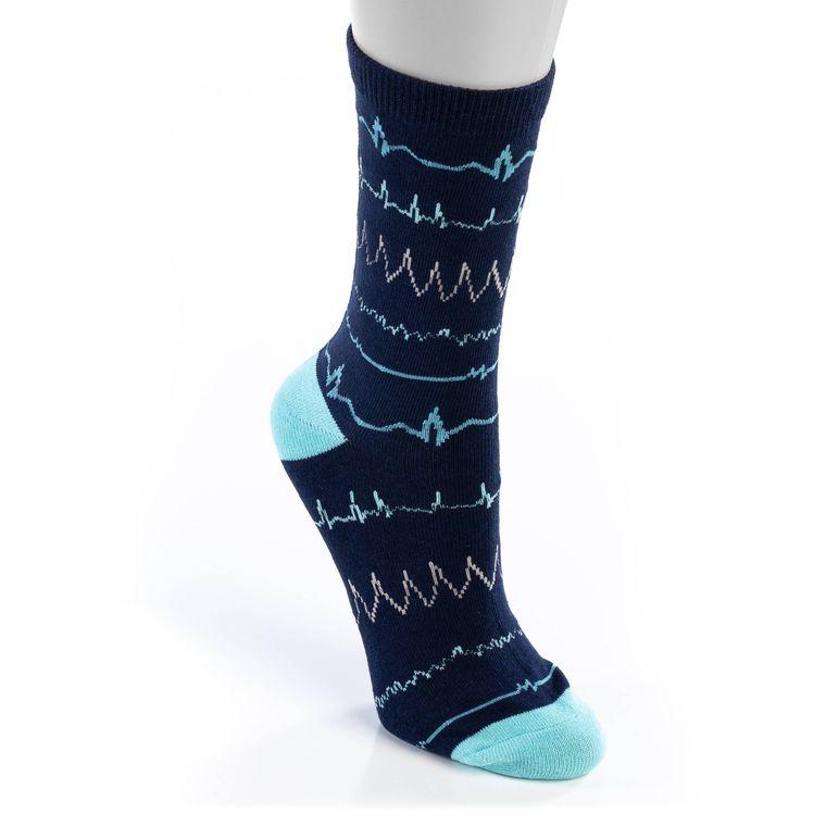 Navy Rhythm Unisex Socks