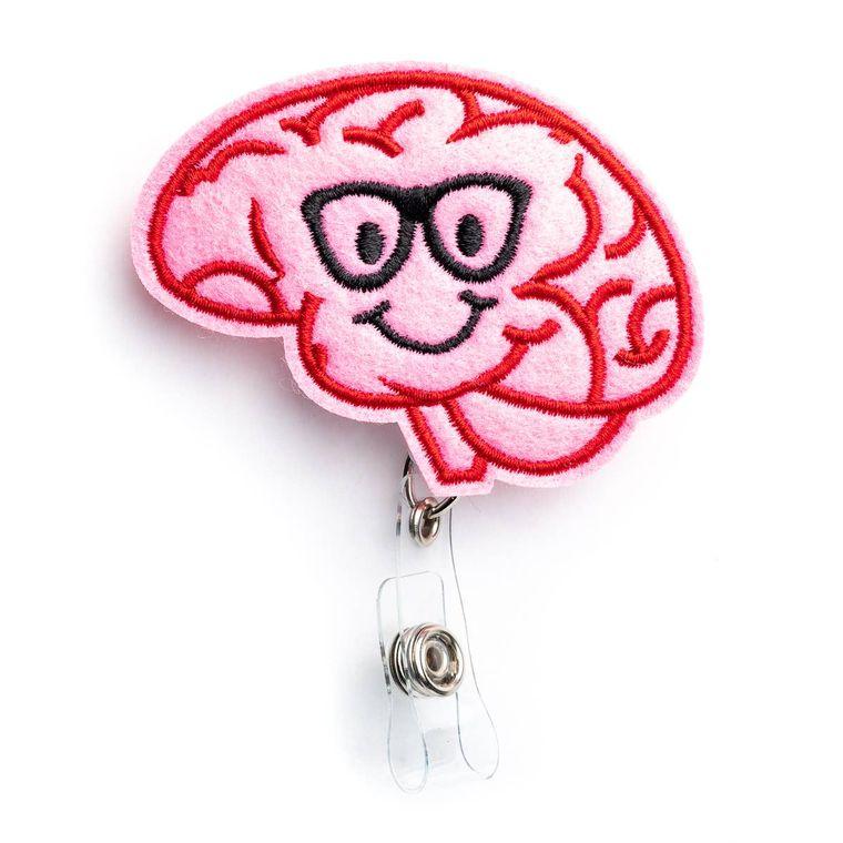 Brain Badge Reel Holder