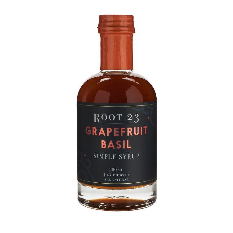 Grapefruit Basil Simple Syrup