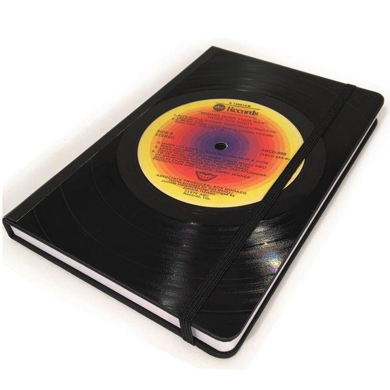 Large LP Vinyl Record Journal - Crooners Genre