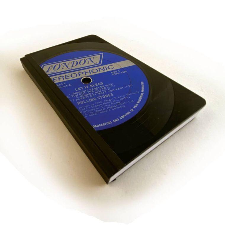 Small LP Vinyl Record Journal - Jazz Genre