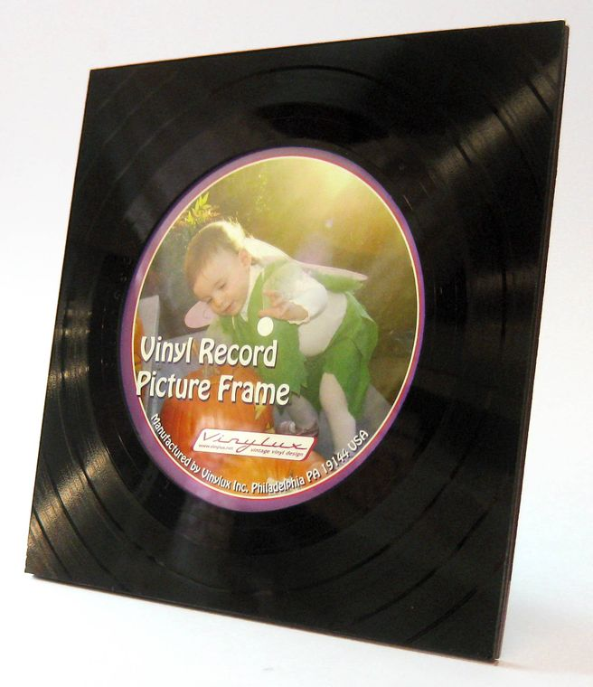 Vinyl Record Picture Frame