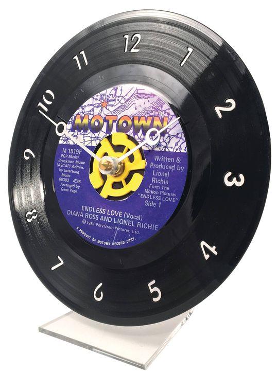 45RPM Vinyl Record Clock (Wall Version) - 80's Genre