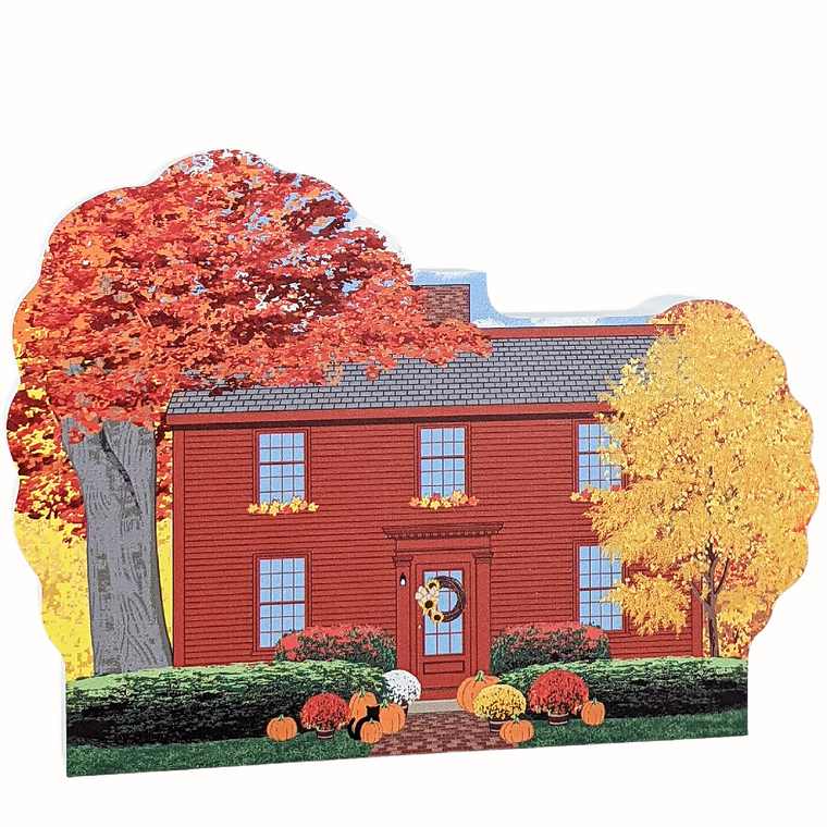 Hawthorne Birthplace, Autumn in Salem, Massachusetts