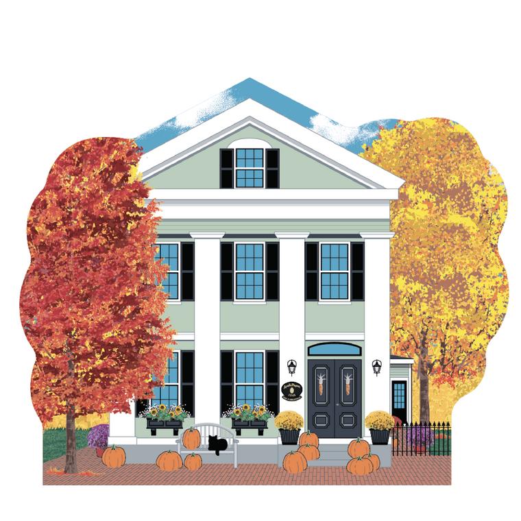 Amelia Payson House, Autumn In Salem