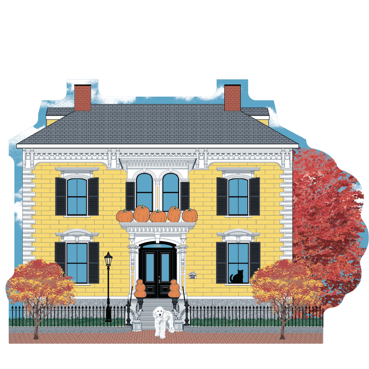 James Braden House, Autumn In Salem