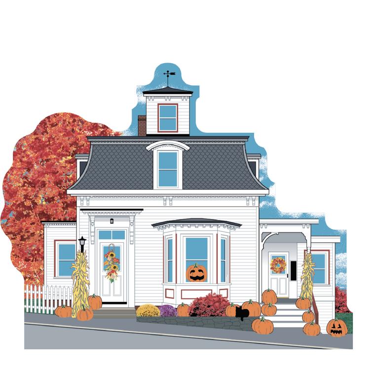 Balcomb Cottage (Hocus Pocus House), Autumn In Salem