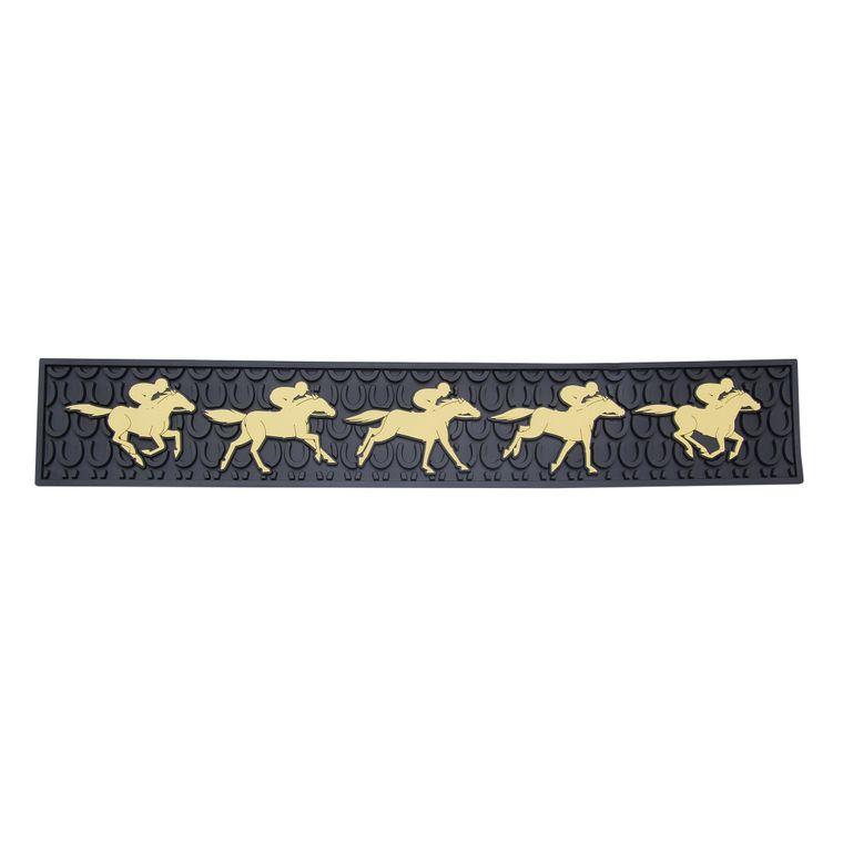 Running Horses Bar Mat