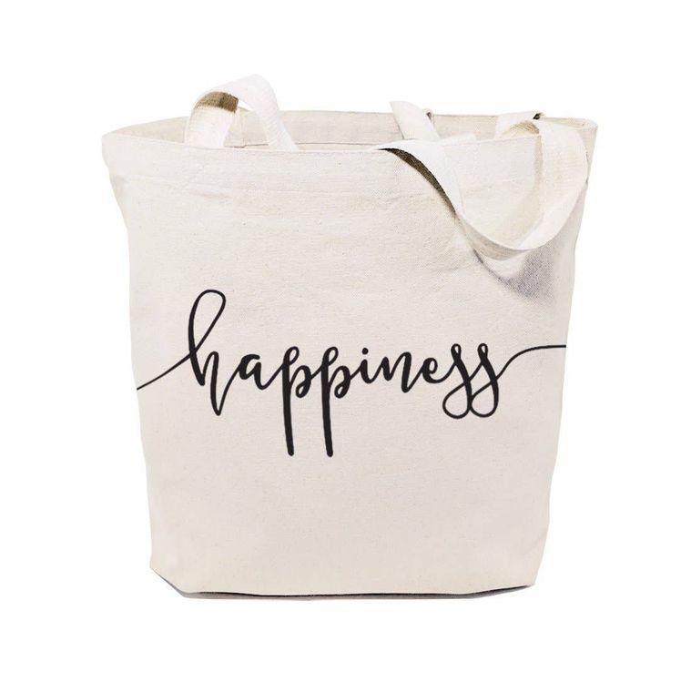 Happiness Tote and Handbag
