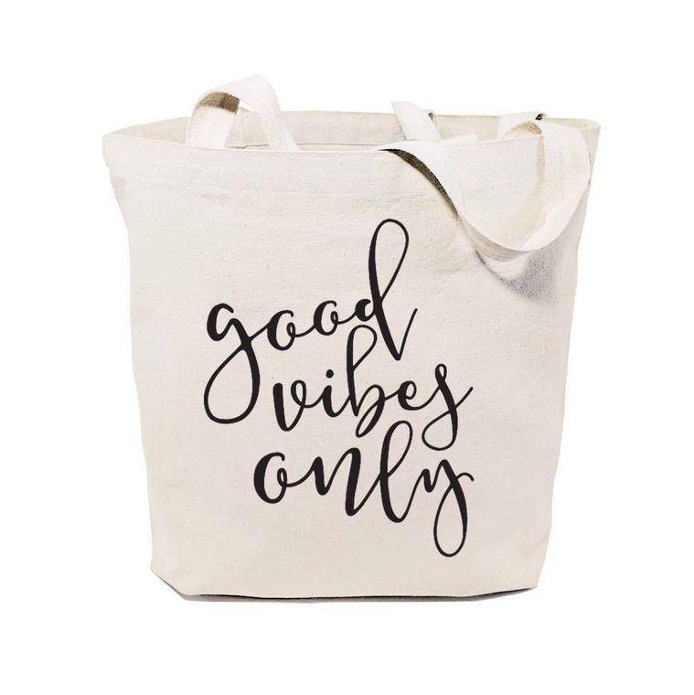 Good Vibes Only Tote and Handbag