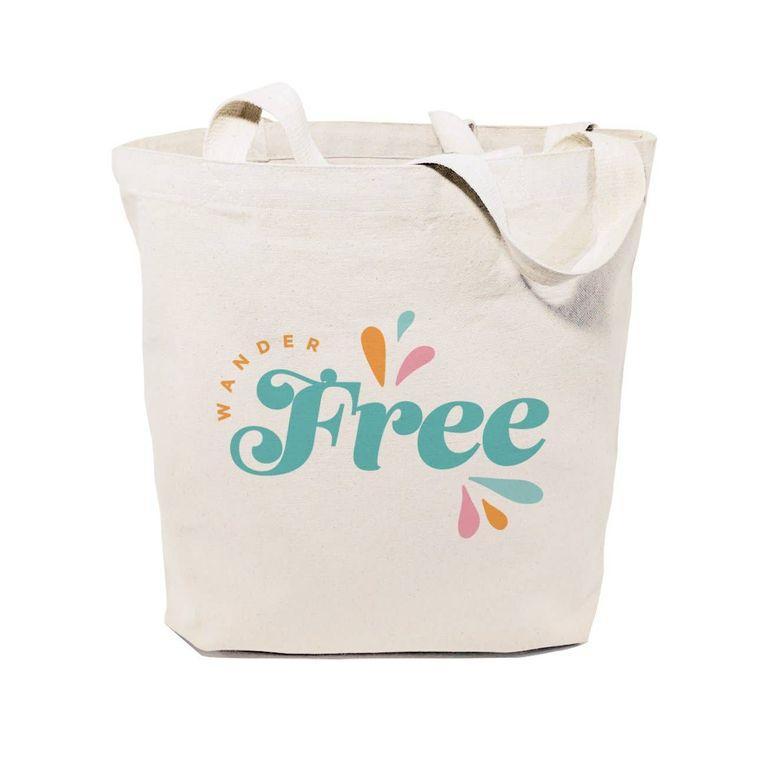 Wander Free Summer Tote and Handbag