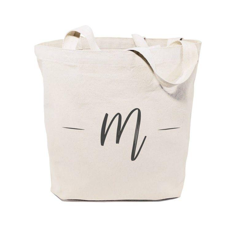 Personalized Handwritten Monogram Tote and Handbag