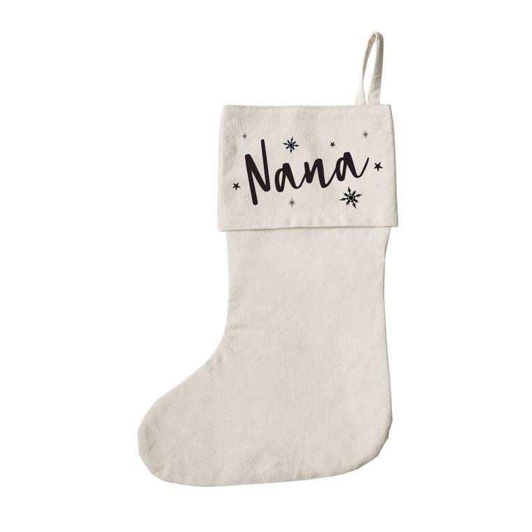 Nana Christmas Gift Bag and Holiday Decorations