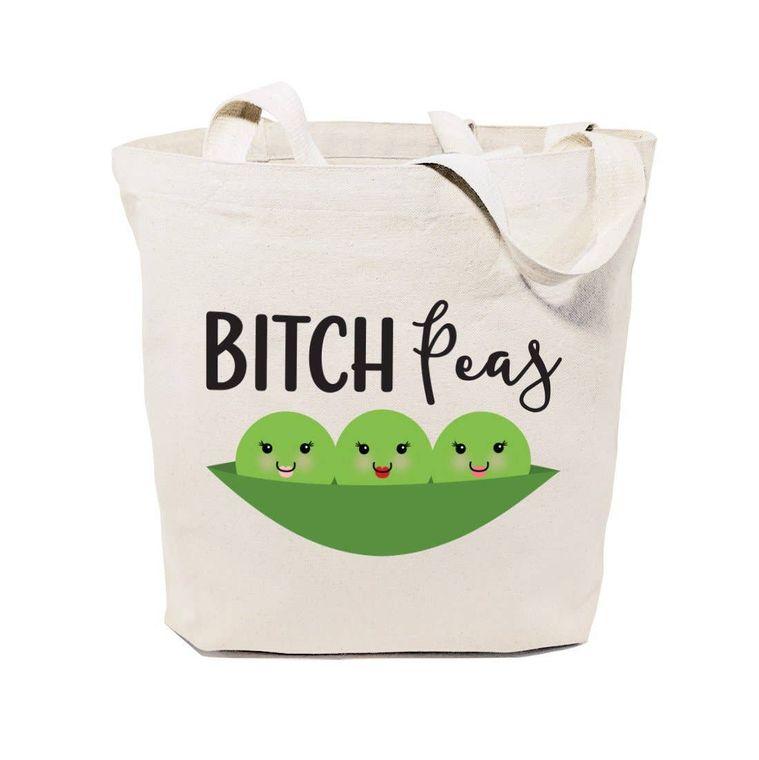 Bitch Peas Tote and Handbag
