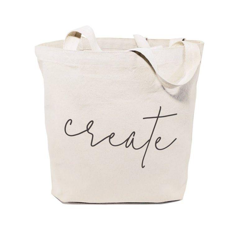 Create Gym Tote and Handbag