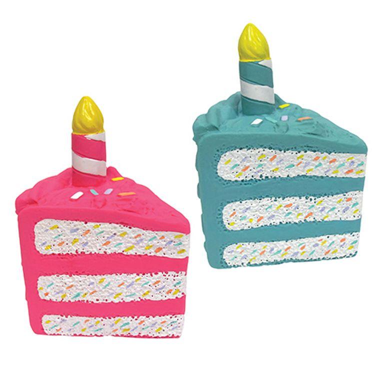 Birthday Cake Chew Latex Toy