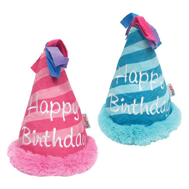 Birthday Hat Crinkle Plush