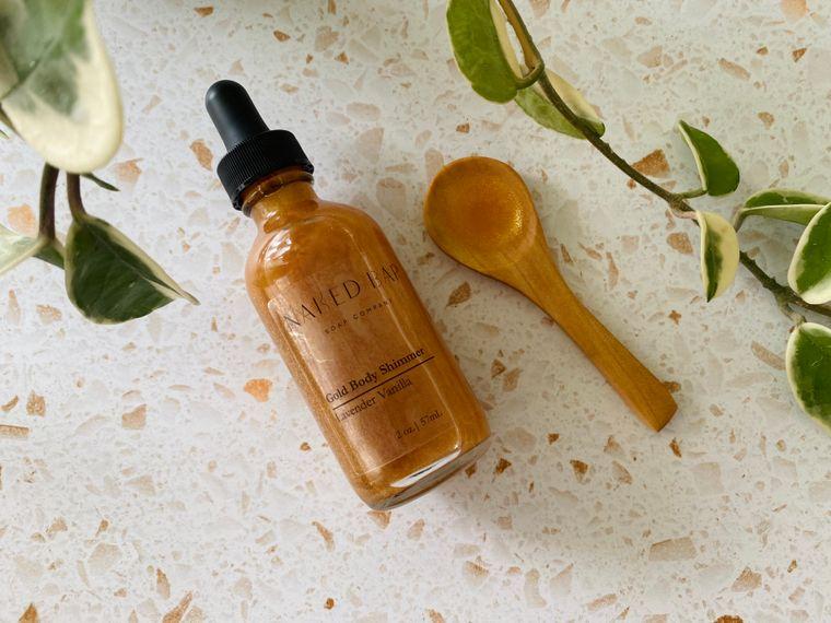 Gold Shimmer Body Oil