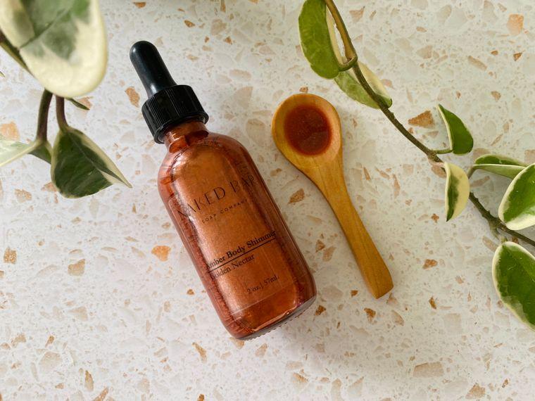 Amber Body Shimmer Oil