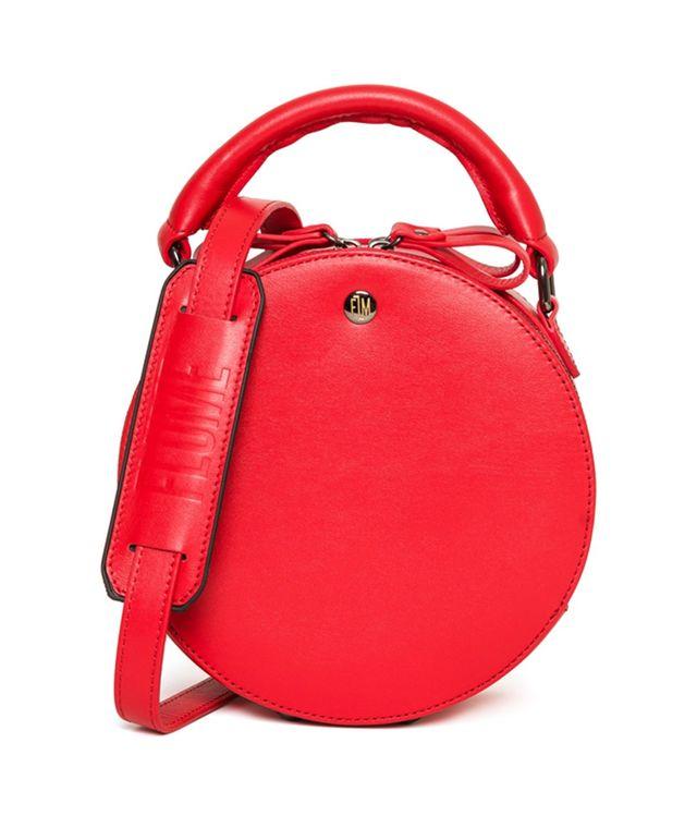Ovi Red Box Shoulder Bag
