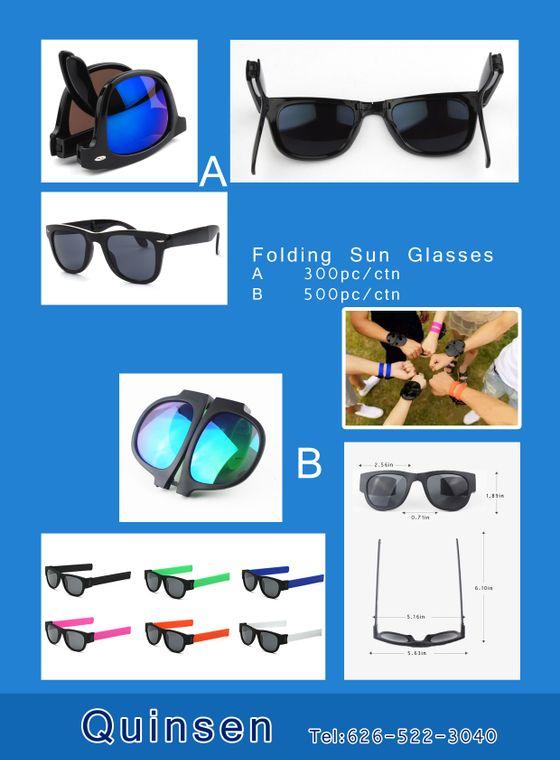 Foldiing sunglasses