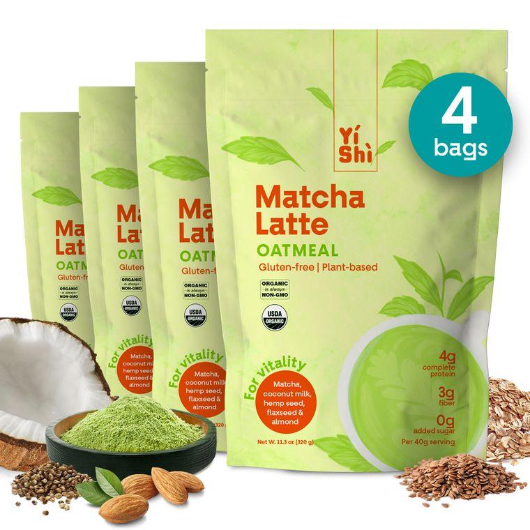 Matcha Latte Oatmeal Family Pouch