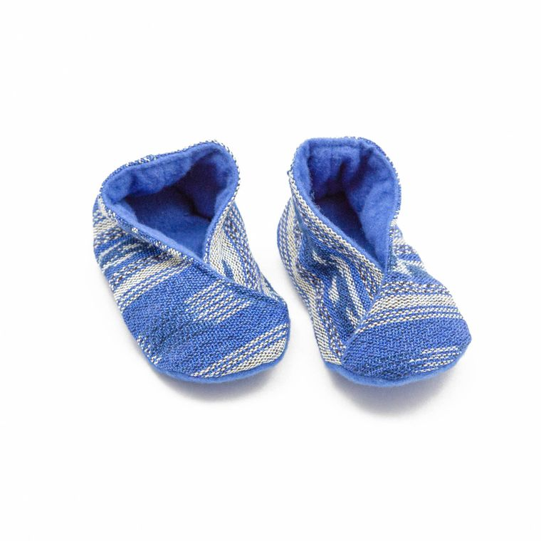 Handwoven Baby Booties
