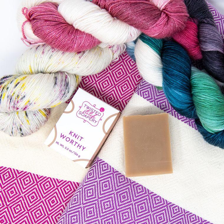 Knit Worthy Bar Soap