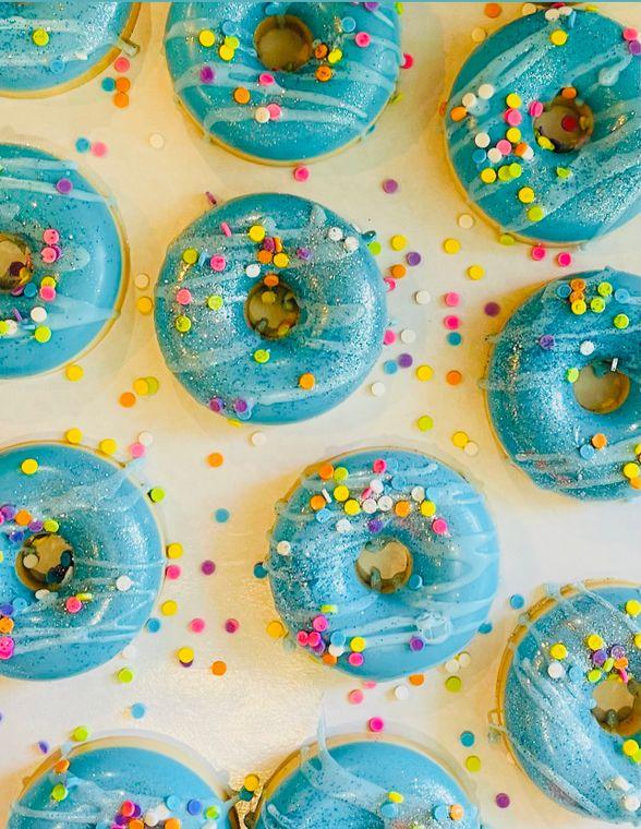 Confetti Cake donut soap