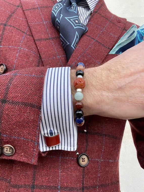 Carnelian Courage Bracelet