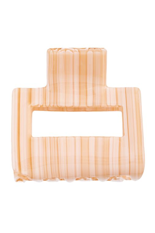 Acetate Rectangle Cut Out Hair Claw
