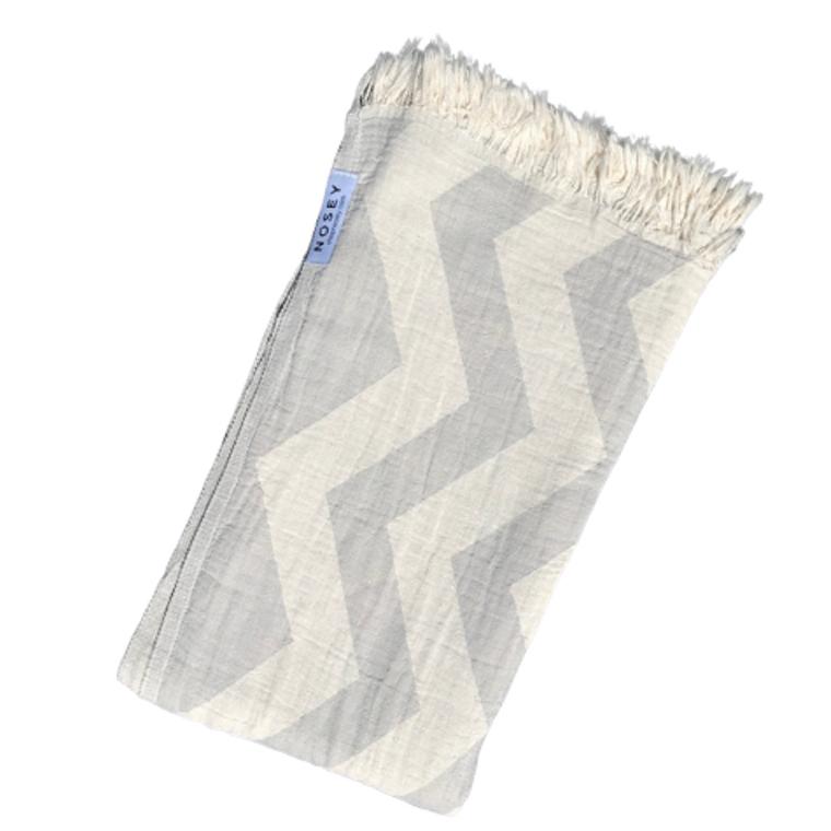 Ziggy Peshtemal Towel - Grey