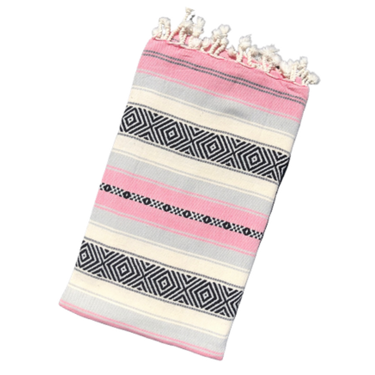 BAJA PESHTEMAL TOWEL - Pink