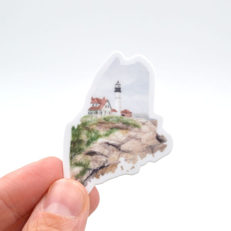 Maine State Sticker - mini size