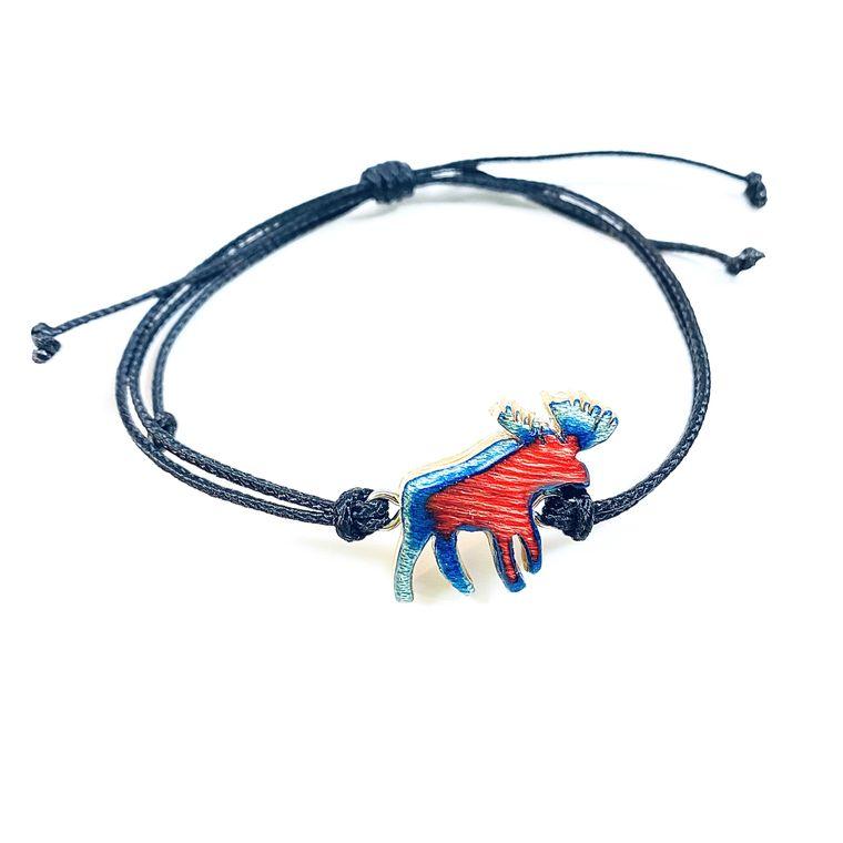 Skateboard Moose Bracelet