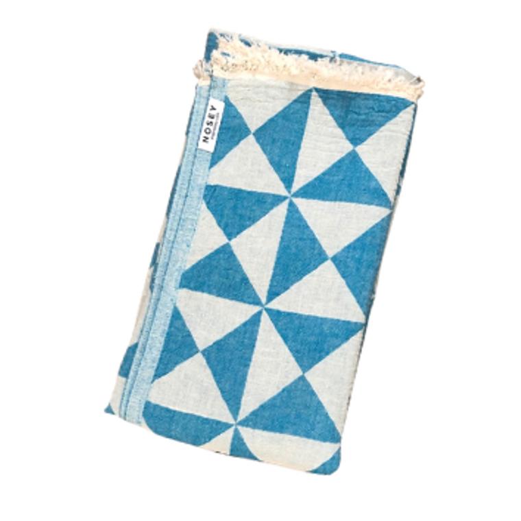 Cali Peshtemal Towel - Turquoise