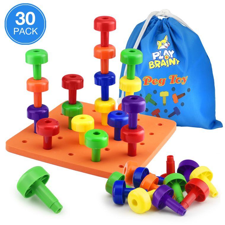30 PCS Peg toy