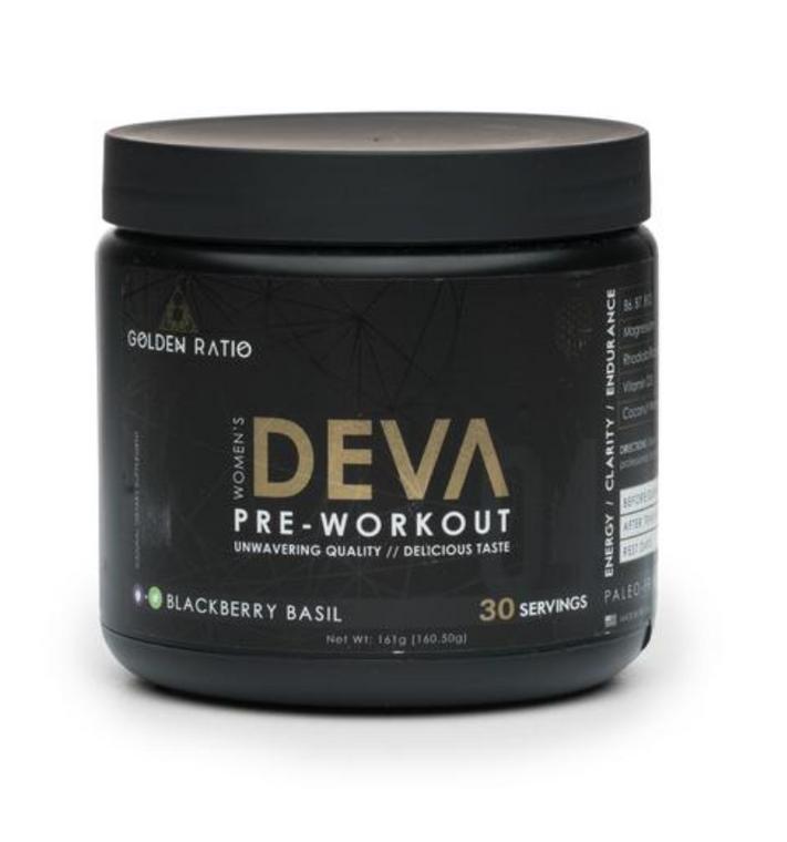 DEVA Women's Pre-Workout